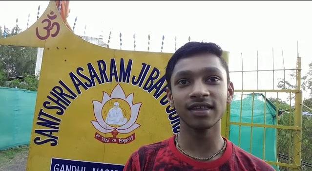 nikhil lodhi,asharam bapu gurukul,asharam bapu gurukul bhopal,bhopal,asharam bapu,marks